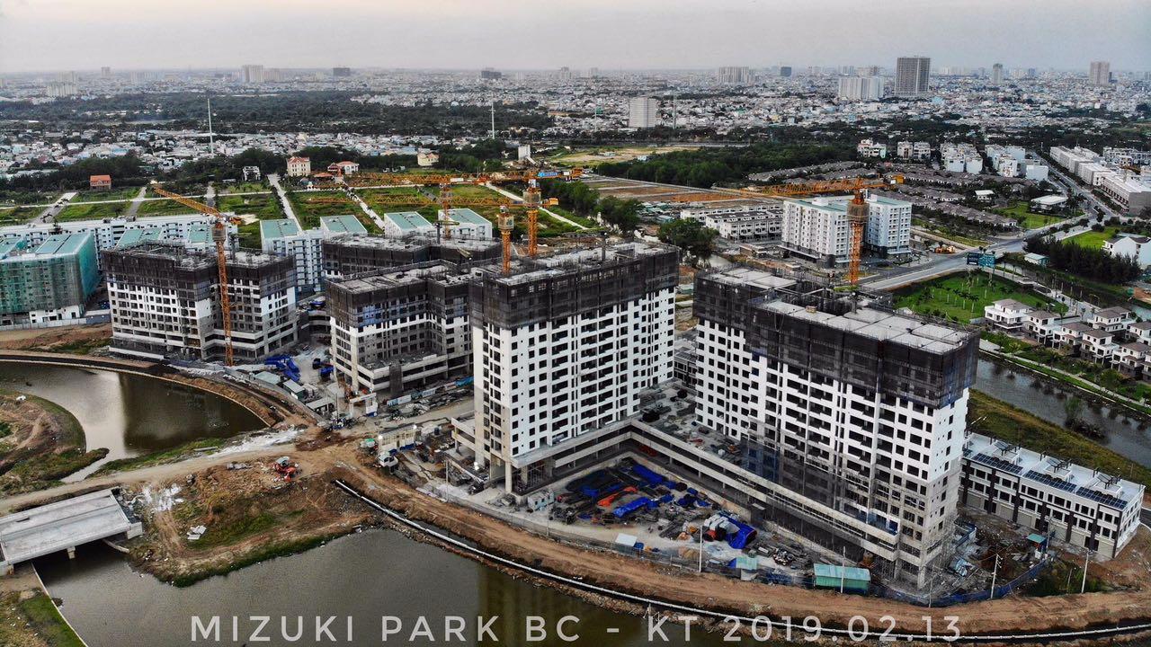 Kênh Đào là điểm nhấn đặc biệt cho khu đô thị Mizuki Park, Ảnh : Kiệt Tuấn