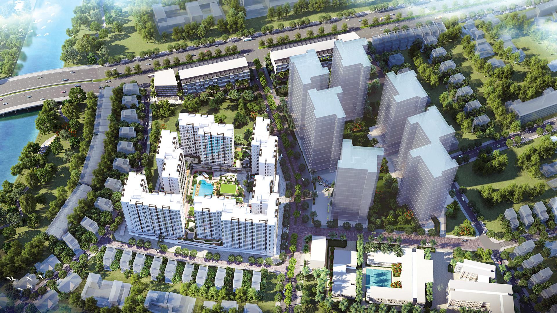 Phối cảnh dự án Akari City Bình Tân