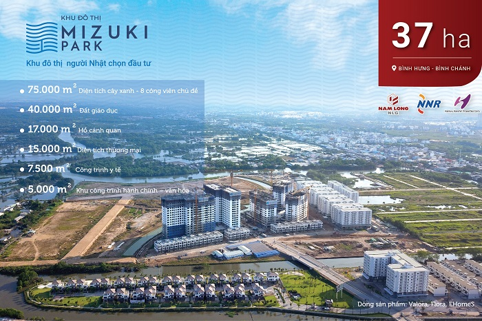 Khu đô thị Mizuki Park Nam Sài Gòn