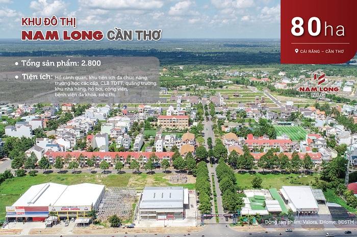 Khu đô thị Nam Long Cần Thơ
