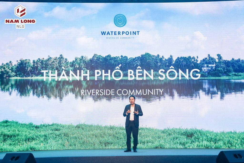 Ông Nguyễn Minh Quang - Giám đóc khối TT & KD Nam Long chia sẻ về thông tin dự án Khu đô thị Waterpoint