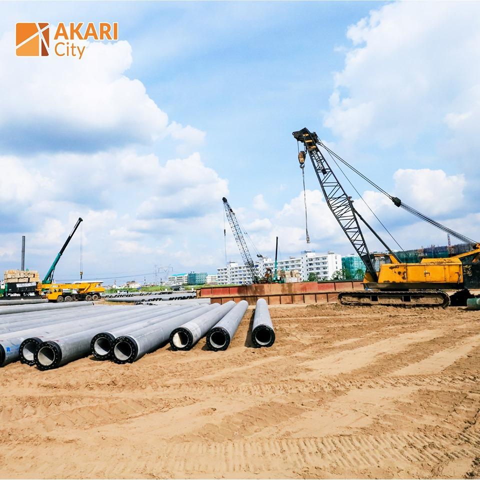 Dự án Akari City Bình Tân có quy mô 8,5 hecta do Nam Long và hai đối tác Nhật Bản phát triển.
