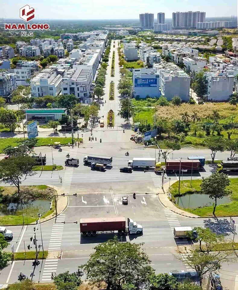 Thông xe nút giao Nguyễn Văn Linh và đường D1.