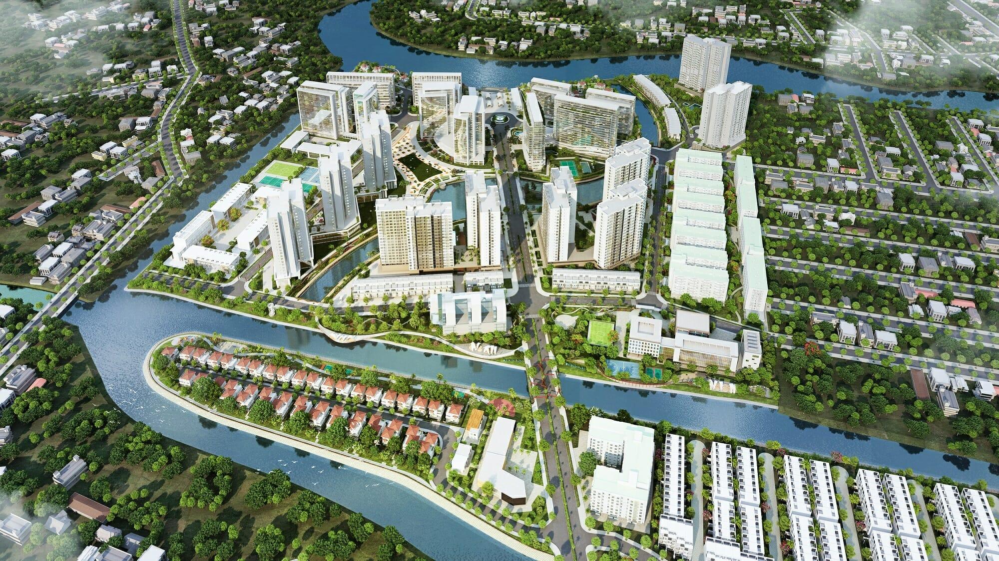 Dự án Mizuki Park Nam Long - Phòng Kinh Doanh Dự Án
