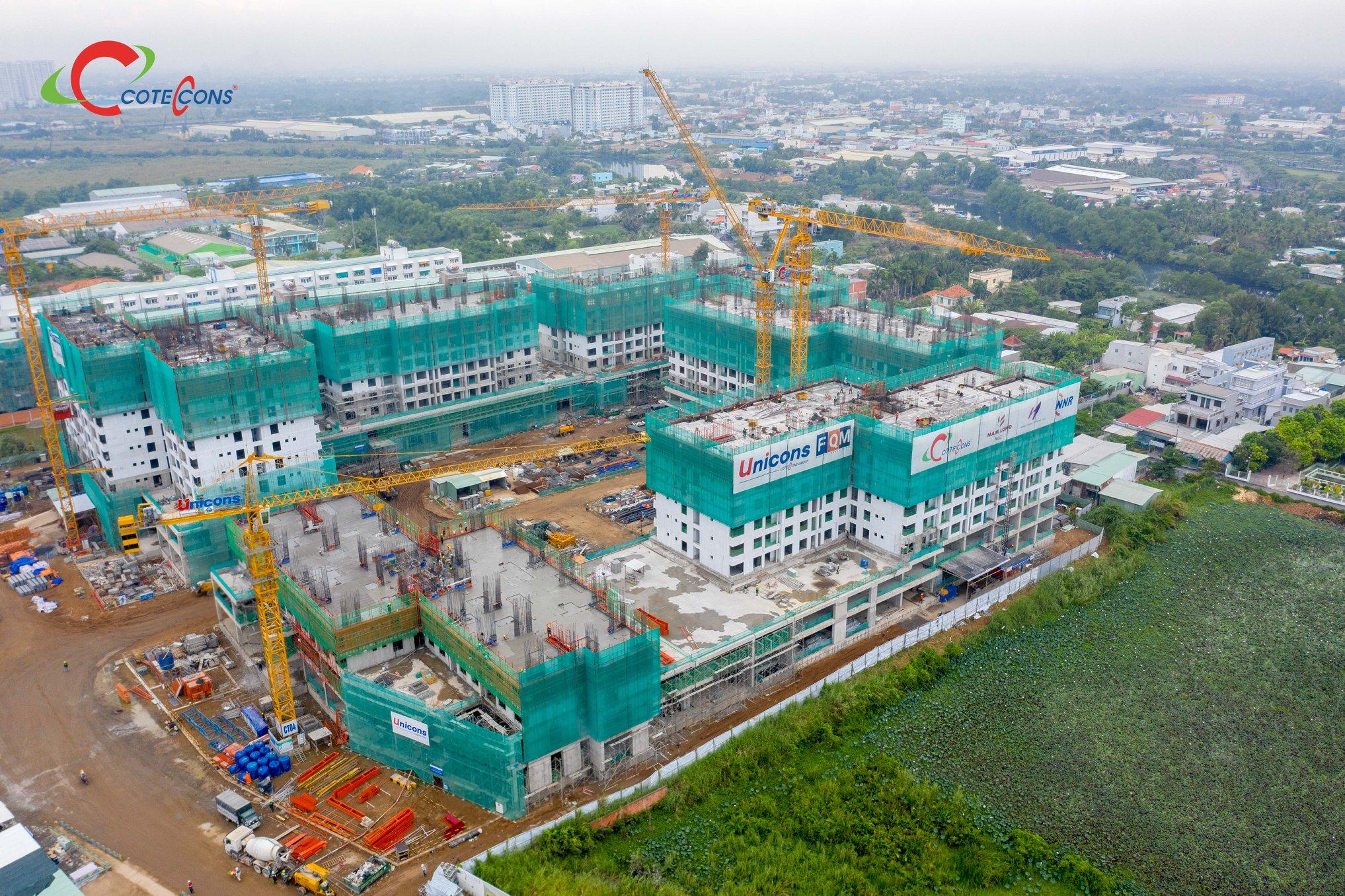 Nhà thầu Cotecons vẫn tích cực triển khai xây dựng dự án Akari City